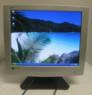 Gateway FPD1730 17 inch Flat Panel LCD Monitor Display VGA 908Q