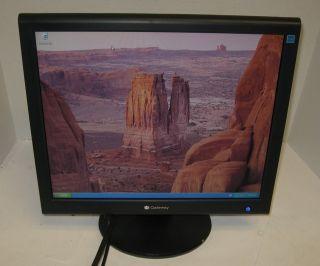 Gateway FPD1765 17 inch Flat Panel LCD Monitor Display VGA DVI 788W
