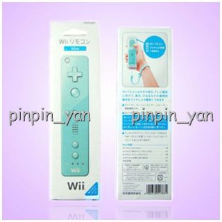 Blue Wii Remote Controller for Nintendo Wii Game Silicone Case Strap