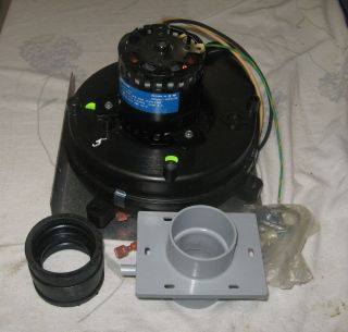 Magnetek Electric Motor with Blower Attached Furnace Fan