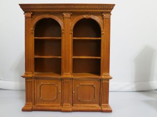 Miniature Furniture Bookcase Book Shelf Office Library New