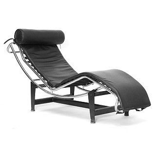 black chaise lounge chair living room furniture leather adjustable