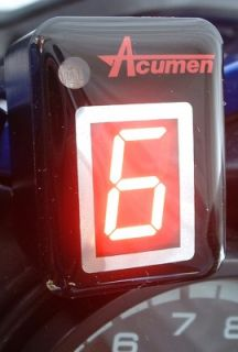 Acumen DG8 Digital Gear Indicator Harley Softail V Rod