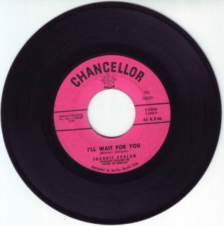 1958 I'll Wait for You Frankie Avalon