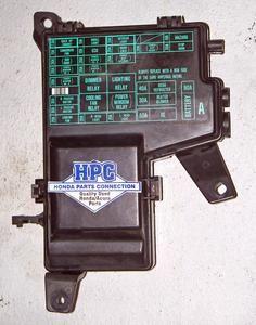 96 97 98 99 00 honda civic interior under dash fuse box w 99 honda civic torque converter
