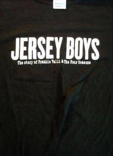 Jersey Boys T Shirt Large Frankie Valli Four Seasons