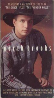 Garth Brooks Thunder Rolls The Dance Interview VHS