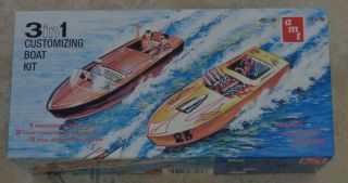 Chris Craft Jersey Skiff Ventnor Gar Wood Dodge model boat UN BUILT