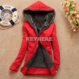 Womens Ladies Thicken Warmer Hoodie Coat Outerwear Jacket K0E1
