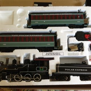 The Polar Express G Scale Electric Train Set