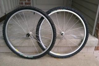 Alloy 26 Wheelset Wheel Team A Gary Fisher MTB Mountain Dirt Jump BMX