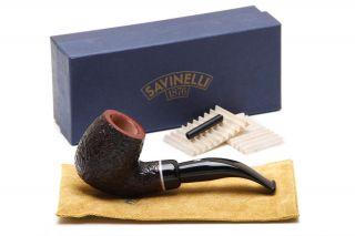 Savinelli Gaius Rustic 616 Tobacco Pipe