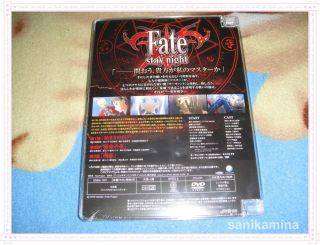 fate stay night 1 japan dvd anime japan version