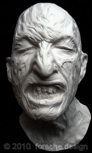Freddy Krueger Make Up Robert Englund Life Mask Nightmare on Elm