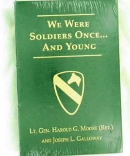 Hal Moore Joe Galloway SIGNED x2 +COA We Were Soldiers VIETNAM WAR