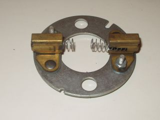 plate for generator brushes fits harley 6 volt generator model 58
