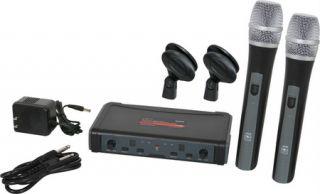 Galaxy Audio ECDR/2HH38 ECD Series Dual Channel Wireless System