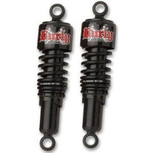 BURLY BRAND 10 5 BLACK REAR SLAMMER SHOCKS 4 HARLEY DYNA FXR MODELS