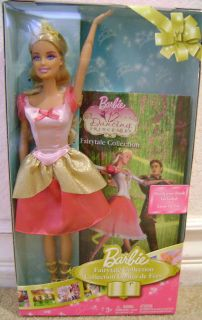 Barbie 12 Dancing Princesses Genevieve Book Set New