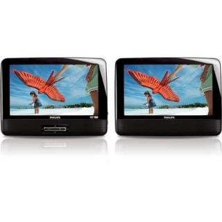 Philips 9 Dual Screen Portable DVD Player