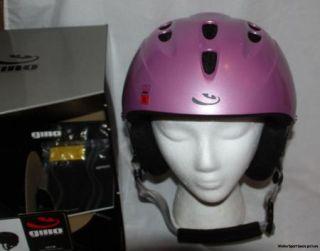 Giro 540 Freestyle Freeride Pink Skiing Snowboarding Snow Helmet Women