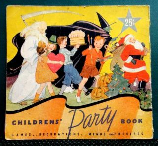 CHILDREN PARTY GAME,COOKBOOK,DECORATION~HALLOWEEN,CHRISTMAS,EASTER