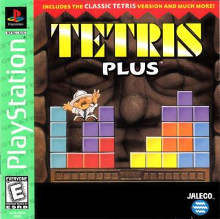 Tetris Plus Sony PlayStation Game PS1 PS2 PS3 Complete