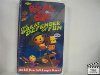 Rolie Polie Olie Great Defender of Fun Brand New VHS 786936172027