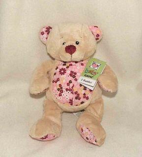 Baby Ganz Raspberry Teddy Bear BG2579 New