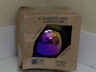 Mirror Ball 8 inch Rainbow Stainless Steel Gazing Globe