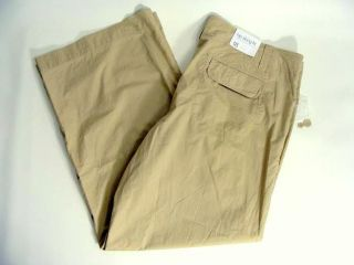 Gap Khaki Hip Slung Fit Flared Leg Summer Pants 18