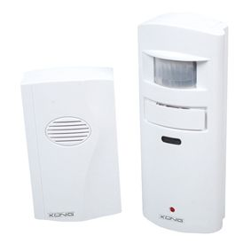 L1B Shed Garage Door Chime Wireless Security Alarm with Motion Sensor