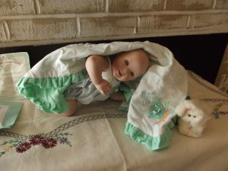Fresh from The Patch Porcelain Baby Doll Ashton Drake Ultra Cute