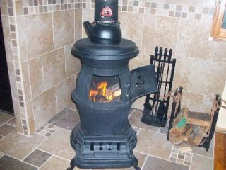 NEW Cast Iron Pot Belly Stove 200 000 BTU