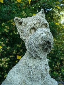 SCOTTIE DOG 14 IN NEW resin animal pet garden indoor outdoor statue