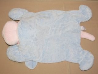 24 Baby Ganz Comfy Lovey Puppy Dog Cozy Blue Pink Security Blanket