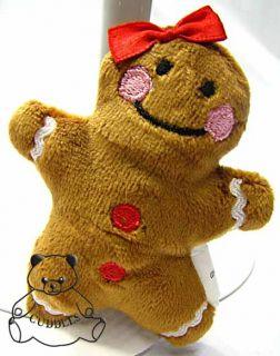 Gingerbread Girl Magnet Cookie Ganz Stuffed Animal Plush Toy Ginger