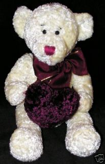 Heritage Collection by Ganz Plush Teddy Bear Heartly
