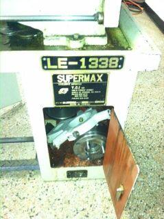YCI Supermax Le 1338 13 Geared Head Gap Bed Engine Lathe