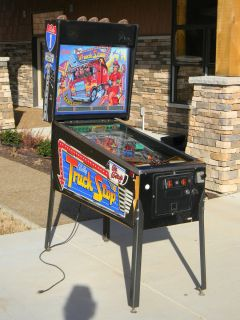 Bally Big Bettys Truck Stop Pinball Arcade Machine Game