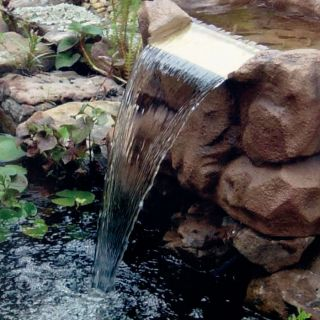 Complete Garden Home Water Fountain Fish Plant Pond Kit Feature