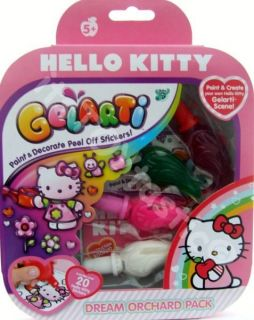 Gelarti Hello Kitty Activity Pack Sticker Maker Painting Kids Craft
