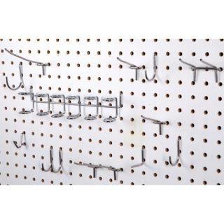 50 Piece Pegboard Assortment Hook Kit Tool Hangers New