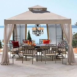 JCPenny 2010 Outdoor Oasis Gazebo Replacement Canopy Top