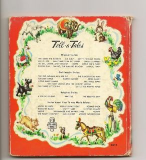 Tom Jerry Happy Birthday Vtg 1955 Whitman Tell A Tale