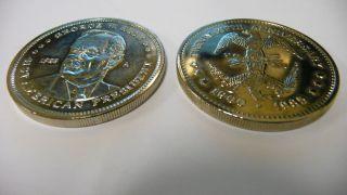 John F Kennedy George W Bush American President Double Eagle Coin LOT