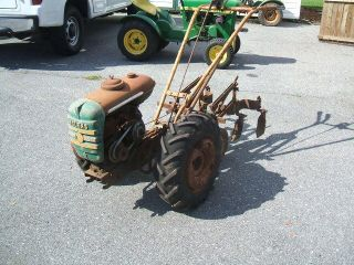 Bolens 2 Wheel Garden Tractor with Rear Cultivators