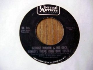 george martin ringo s theme this boy 45