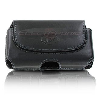 Leather Holster Pouch Case For Verizon LG Accolade VX5600 Revere