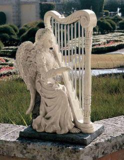 Chimes of an Angel Musical Harp Sculpture. Home,Yard & Garden Statue